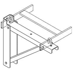 Chatsworth Products Triangular Support Bracket, Steel