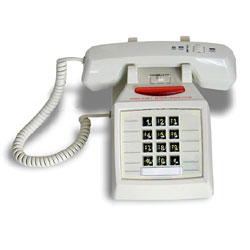 Inn-Phone Desk Phone with Super Bright Message Light and Keypad
