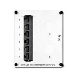 Legrand - On-Q 6-Port Cat 6 Network Interface Module