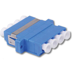 Hubbell LC Quad SM/MM Adapter (Package of 6)