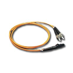 ICC 62.5/125µm Multimode Duplex Fiber Optic Patch Cord - MT-RJ / ST