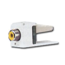Panduit® Mini-Com RCA 110 Style Punchdown Module - Yellow Insert
