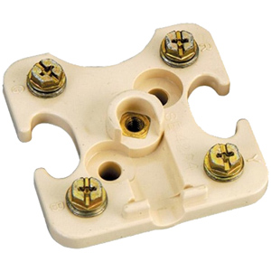 Suttle Terminal Block without Cover - 4 Screw Posts Block Only