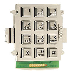 Ceeco Alphanumeric Keypad Equipped with Pin Header