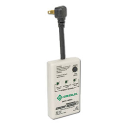 Greenlee Transmitter for Power Finder Circuit Seeker Microprocessor-Based Circuit Tracer