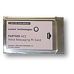 Avaya Partner Voice Mail PCMCIA Card R3.0 (Small) Refurbished