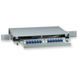 Corning  Remote Cabinet Shelf (RCS) 1 Rack Unit, 12 Fiber, SC Adapters
