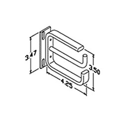 Chatsworth Products Horizontal Cable Guide for Active Electronic Components - 2 RMU