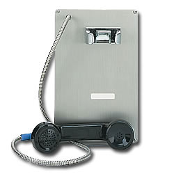 Ceeco Stainless Steel Automatic Dial Panel Phone
