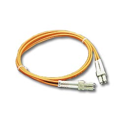 ICC 62.5/125µm Multimode Duplex Fiber Optic Patch Cord - LC