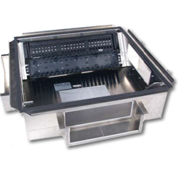 Hubbell ZoBox Access Floor 4 & 8 Rack Unit Zone Box