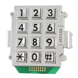 Ceeco 2500 Mount Large Number Keypad