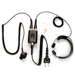 Pryme Heavy Duty Throat Mic for Cobra, Icom, Maxon, Midland, and Yaesu Radios