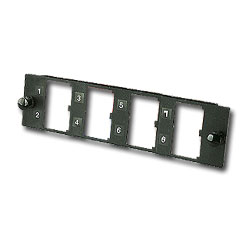 Panduit® Opticom Fiber Adapter Panel - Unloaded