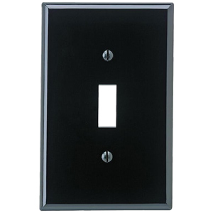 Leviton 1-Toggle Midway Size Nylon Wallplate