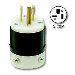 Leviton 20 AMP Industrial Grade Plug