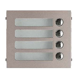 Aiphone GF and GT Series Additional 4-Call Panel