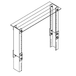Chatsworth Products Rack Extension Kit