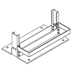 Chatsworth Products Equipment Guard Rail - 4-1/4