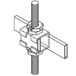 Chatsworth Products Slip-On Support Bracket, Cable Runway