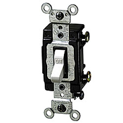 Leviton 3-Way Lighted Toggle Switch