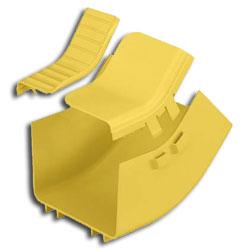 Panduit® 6x4 Inside Vertical 45 Deg. Angle Fitting
