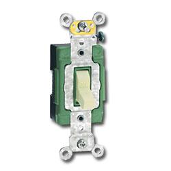Leviton Single Pole Pilot Light Switch