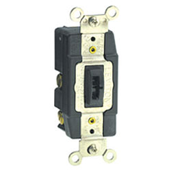 Leviton Back and Side Wired Locking Maintained Contact 120/277V AC