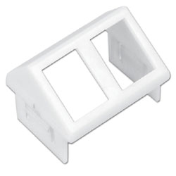 Siemon Angled CT Adapter for Two UTP MAX Modules or TERA Outlets