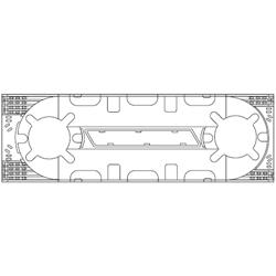 Corning  Universal Splice Tray