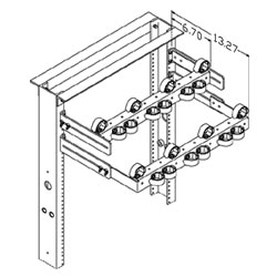Chatsworth Products Cable Strain Relief Bracket