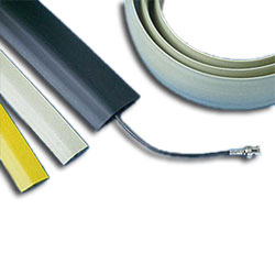 Panduit® Floor Guard for Single, Twisted Pair Cables
