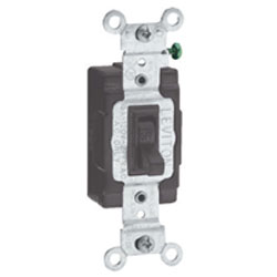 Leviton Double-Pole Toggle Side Wired Quiet Switch