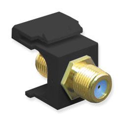 ICC F-Type, Female to Female Gold-Plated Module - 3 GHz
