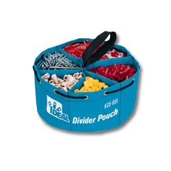 Ideal Divider Pouch Small Parts Bag
