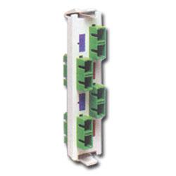 Siemon Flat Quick-Pack 4 Duplex SC/APC Adapter Plate (8 Fibers)