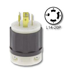 Leviton 20 Amp Locking Plug