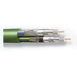 Belden Bundled Multimedia Cable - 2 RG6 / 2 Cat 5e, 500'
