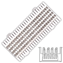 Siemon Field-Terminated M Series S66 Block (12 Pair)