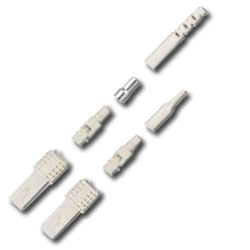 Siemon SC Simplex Singlemode Connector for Jacketed and Buffered Fiber