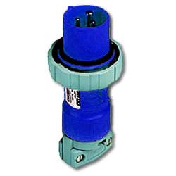 Leviton 120/208 AC 3-Phase 4P5W Wiring Watertight Pin and Sleeve Plug
