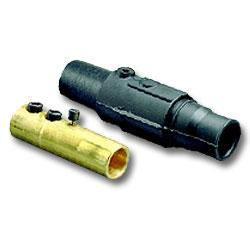 Leviton 17 Series Double Set Screw Taper Nose Detachable Plug - Female