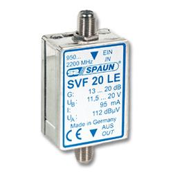 Spaun USA SVF20LE Sat-IF Amplifier / 20dB
