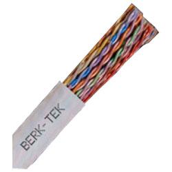Berk-Tek Category 5e Voice & Data Cable - 25 Pair / Riser, 1,000'