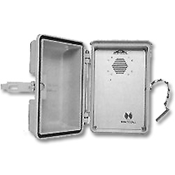 Allen Tel Ring Down Outdoor Speakerphone with Stainless Steel Hasp