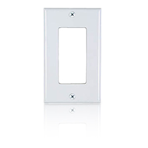 Allen Tel Designer Series Single Gang Wall Plate