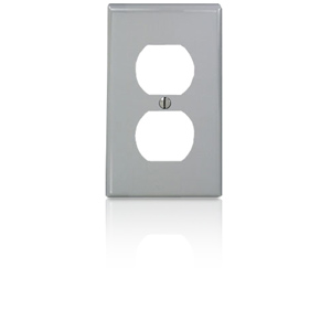 Leviton Nylon 1 Gang Double Receptacle Wallplate