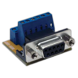 Hubbell AV Connector, 9-Pin D-Sub, Female Screw Terminal (Pkg. of 10)