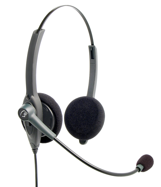 VXI Passport 21 Single-Wire Binaural Headset Direct Connect