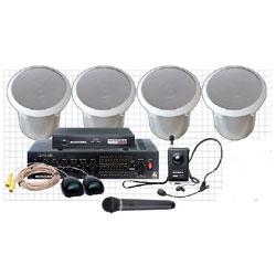 Bogen Voice Enhancement System 4 with Wireless Handheld Microphone